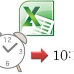 MS-Excelで時間入力を簡単にする方法