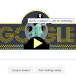 Hedy Lamarr(ヘディ・ラマー)って誰?今日もGoogleのロゴが変わっていたので調べてみました。