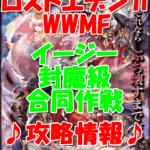 【黒猫のウィズ】双翼のロストエデン2WWMF【イージー 封魔級 合同作戦】攻略情報!
