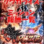 【黒猫のウィズ】「喰牙RIZE -クウガライズ-」ミッションまとめ